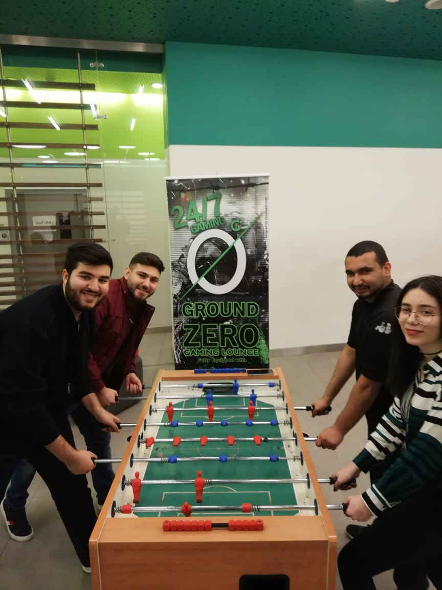 Ps4 and BabyFoot Events in LAU BEIRUT